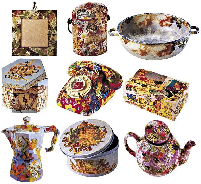 Elena fiore creazioni in feltro art journal - Decorazioni decoupage ...